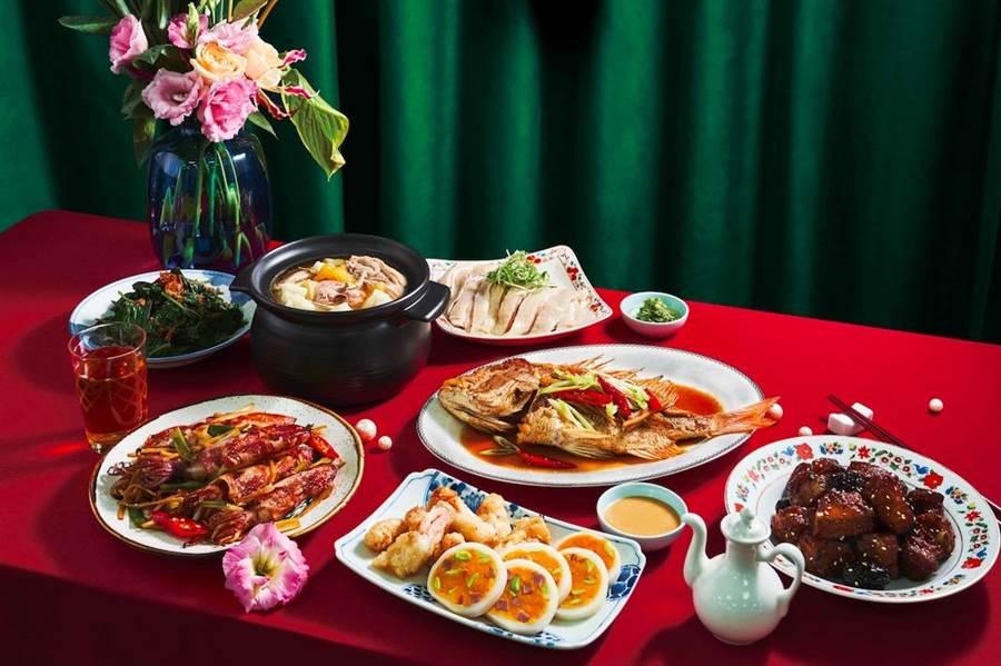京站中真珠台灣家味新開幕,Q卡友8月9日前於主題餐廳,單筆消費3000元送300元商品贈券,可再加碼獲得該消費餐廳300元抵用券。(京站提供)