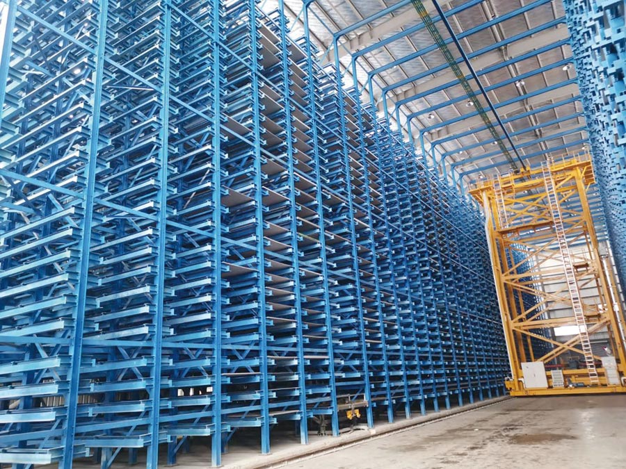 無錫建錩導入數位化智能管理,鋼種規格齊全、出貨迅速。圖╱建錩提供