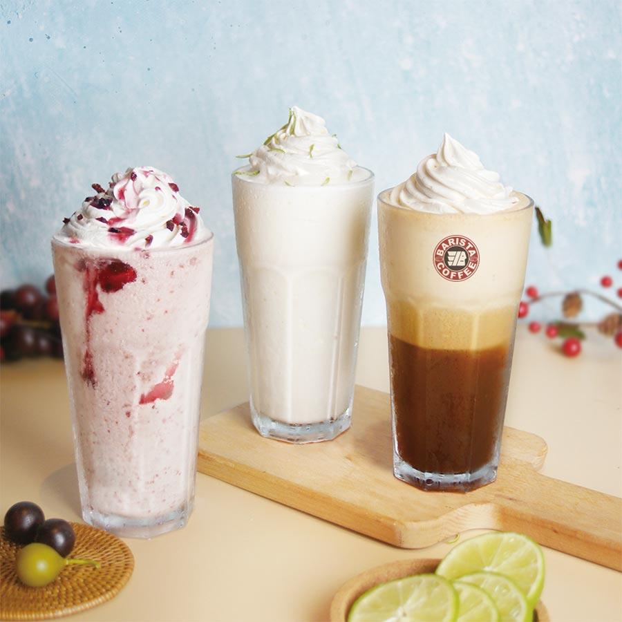 西雅圖極品咖啡推出夏日新品冰紛樂冰沙。圖/業者提供