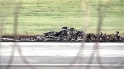 失事直升機殘骸畫面曝光!重墜+高溫燒熔 機身「不成形」