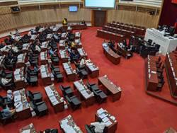 高雄巿議會通過7月31日臨時會補選議長