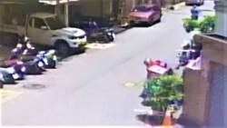 外送員倒地跌花圃昏迷 中市府:勞動條件、保險符合相關規定