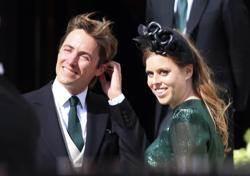 碧翠絲低調與義大利未婚夫在溫莎堡完婚