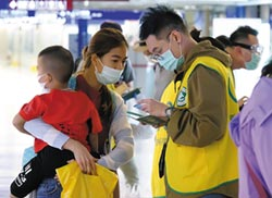 台飛泰班機 6泰人發燒檢驗中