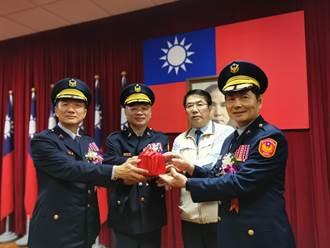 台南新警察局長詹永茂就職 黃偉哲勉延續治安基礎提升績效