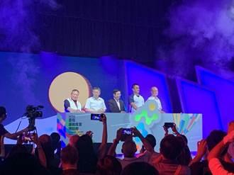 陳金鋒領軍 運動產業博覽會開幕