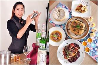 台北凱撒創新茶宴 「白日碧螺春調酒」超台新滋味