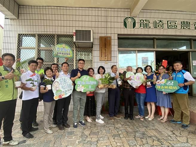 台南市龍崎區全區近1/3是老人,龍崎區農會配合中央政策開辦「綠色照顧站」。(曹婷婷攝)