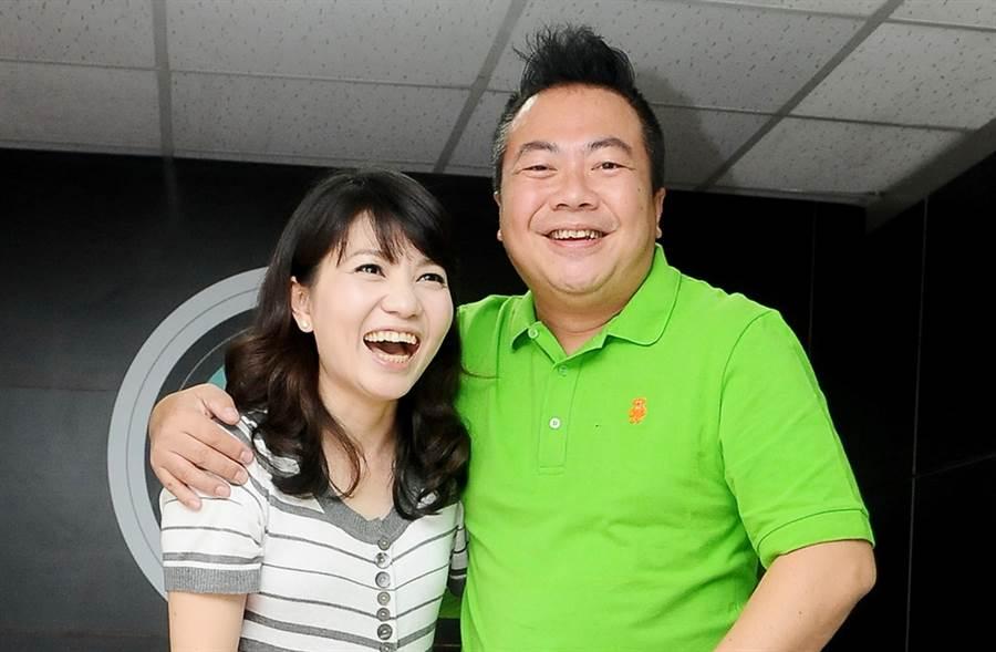 董至成和羅若云21年婚變。(圖/中時資料照片)