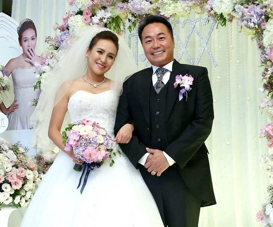 張克帆4年前結婚。(圖/中時資料照片)