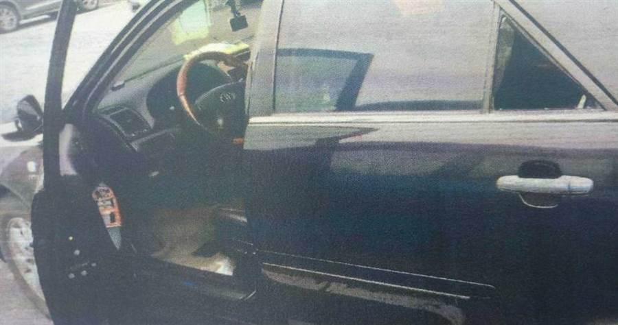 張男擊破車窗竊取財物,警方逮捕後發現他還涉及其他6起案件。(圖/翻攝畫面)