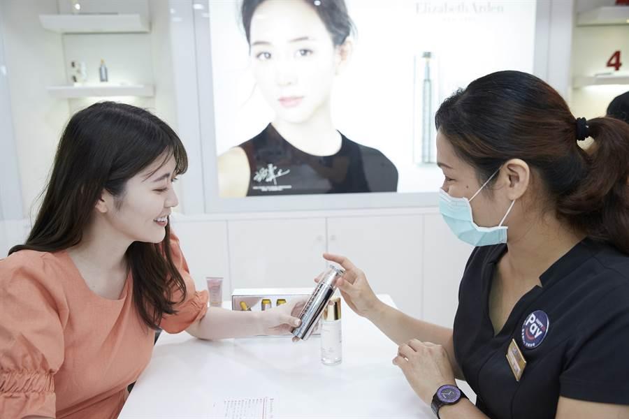 伊麗莎白雅頓推出價格優惠的「艾地苯煥顏緊緻高光護膚會」。(圖/品牌提供)