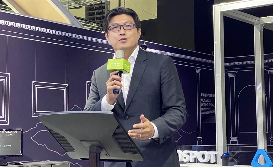 HTC總經理陳柏諭。(黃慧雯攝)