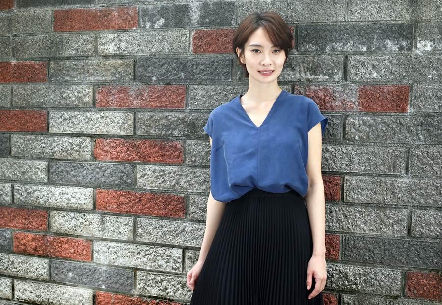 李亦捷去年拿下台北电影奖影后,细腻演技获得评审肯定。(粘耿豪摄)