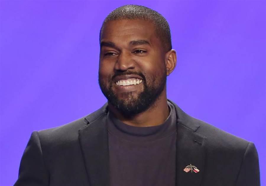 美國「饒舌天王」肯伊威斯特(Kanye West)。(美聯社)