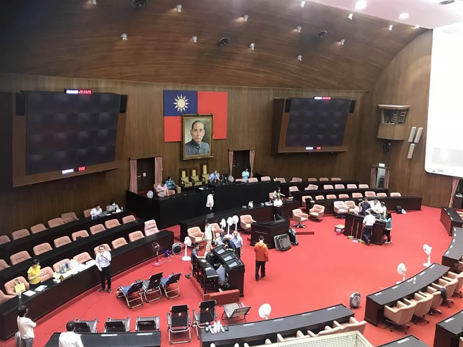 總統:國民黨杯葛,監委被提名人無法答詢,實在很遺憾。本報資料照