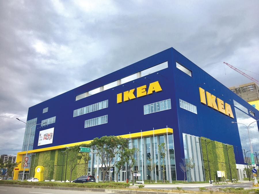 IKEA斥資60億打造的新桃園店將在23日開幕,要做全台居家賣場王。圖/李麗滿