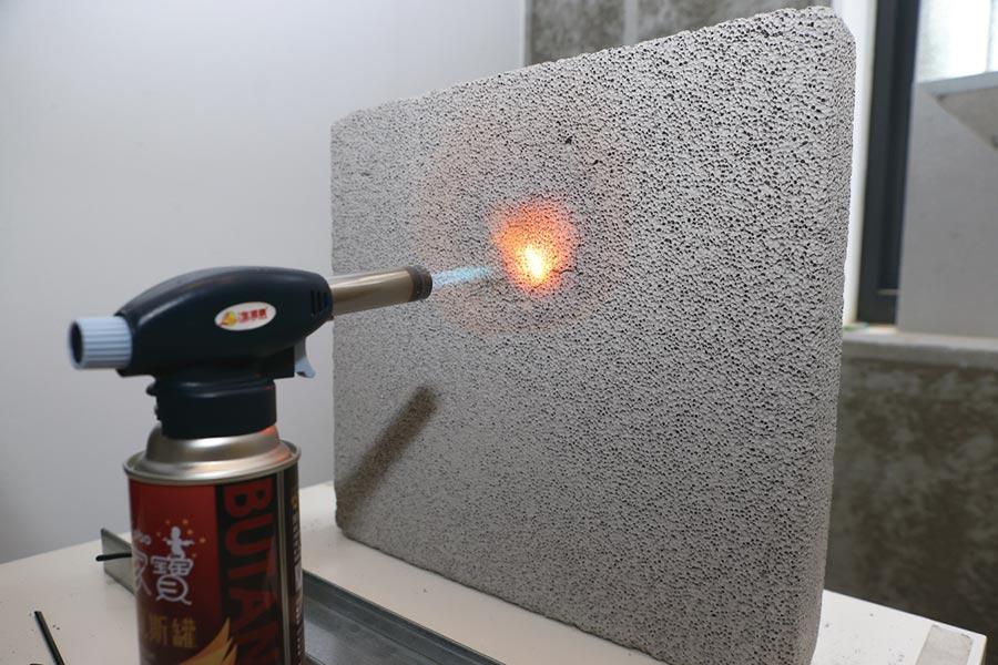 防火隔熱磚。圖/本報資料照片