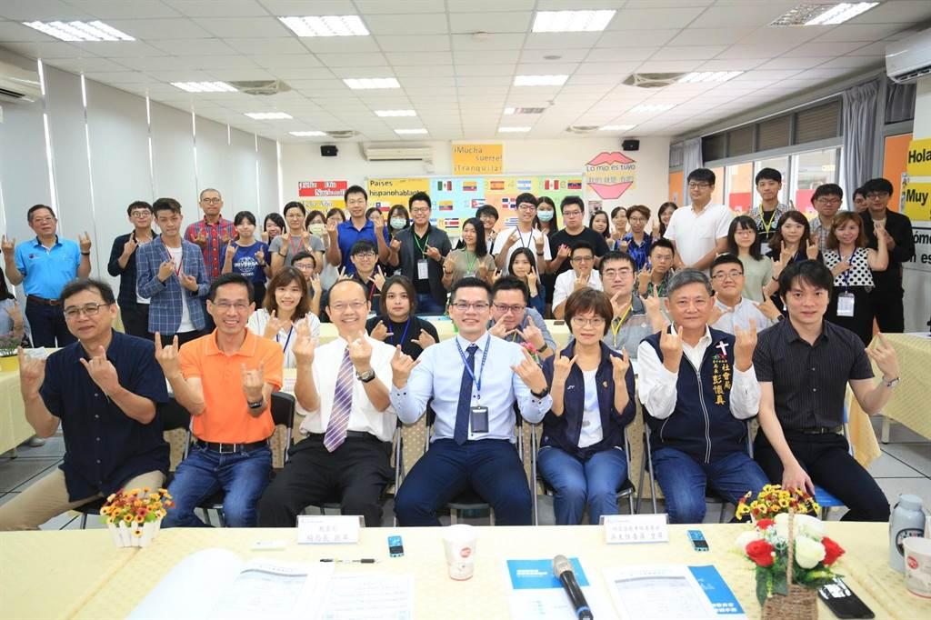 台中市政府「青年事務諮詢委員會」第2次會議18日在惠文高中舉行。(盧金足攝)