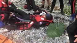 花蓮三棧溪又傳跳水意外 女撞擊尾椎半身麻痺