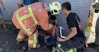 新北市府拆違建 危樓突塌18歲小工人遭壓