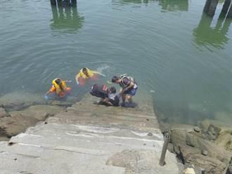 梧棲漁港發現女浮屍 領有敬老愛心卡