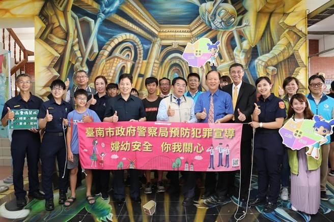 今年台南市警局青春專案活動不僅只有3對3籃球賽,內容豐富。(台南市政府警察局提供/莊曜聰台南傳真)