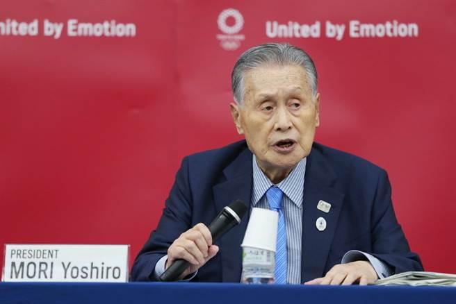 东奥组委会主席森喜朗直言如果取消东奥的话将造成重大损失,有可高达举办东奥的两至三倍。(美联社资料照)