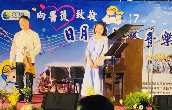 大師演奏,為音樂節揭開序幕。(廖志晃攝)