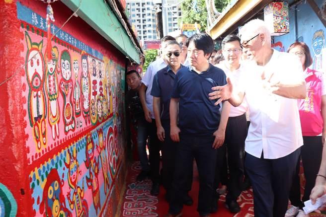 副總統賴清德鼓勵大家出遊觀光拚經濟。(盧金足攝)