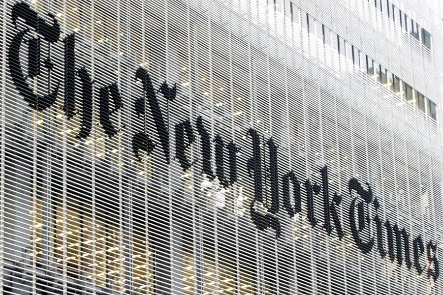 《香港國安法》實施已經引發寒蟬效應,《紐約時報》(New York Times)15日宣布,將撤出1/3香港辦公室員工至南韓首爾。(資料照/美聯社)