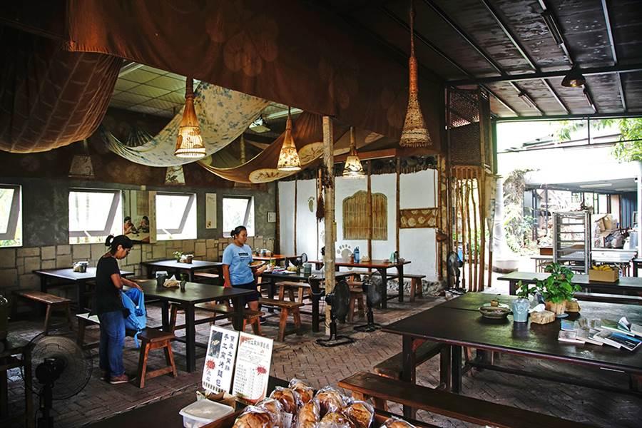 檨仔腳文化共享空間,有手作工坊、體驗見學、樸食窯炊。(攝影/曾信耀)