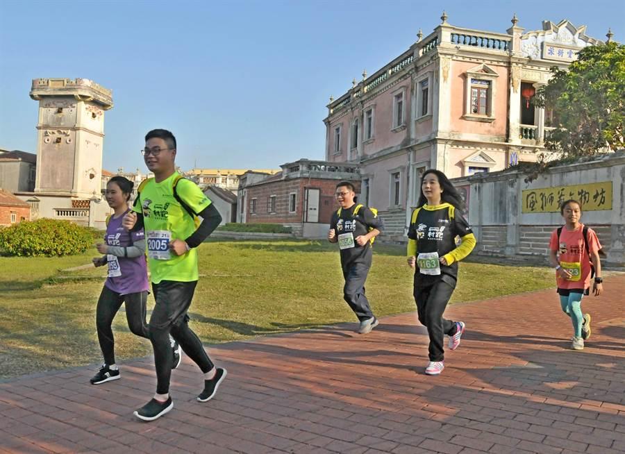 金門縣衛生局呼籲民眾養成運動好習慣,常保健康活力。(李金生攝)