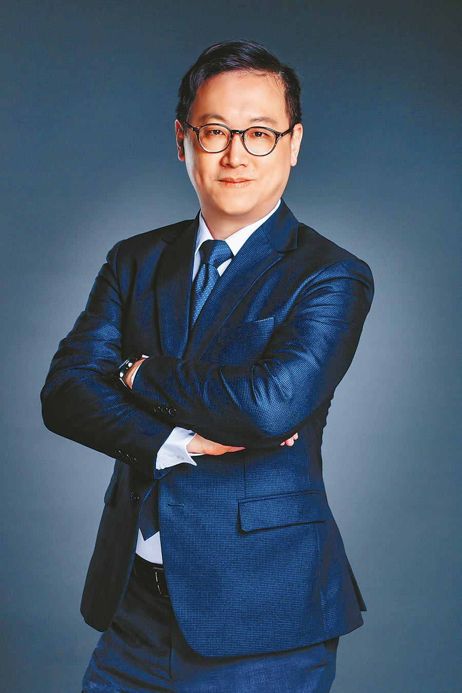 甲桂林廣告研展部協理李尚華。(本報資料照片)