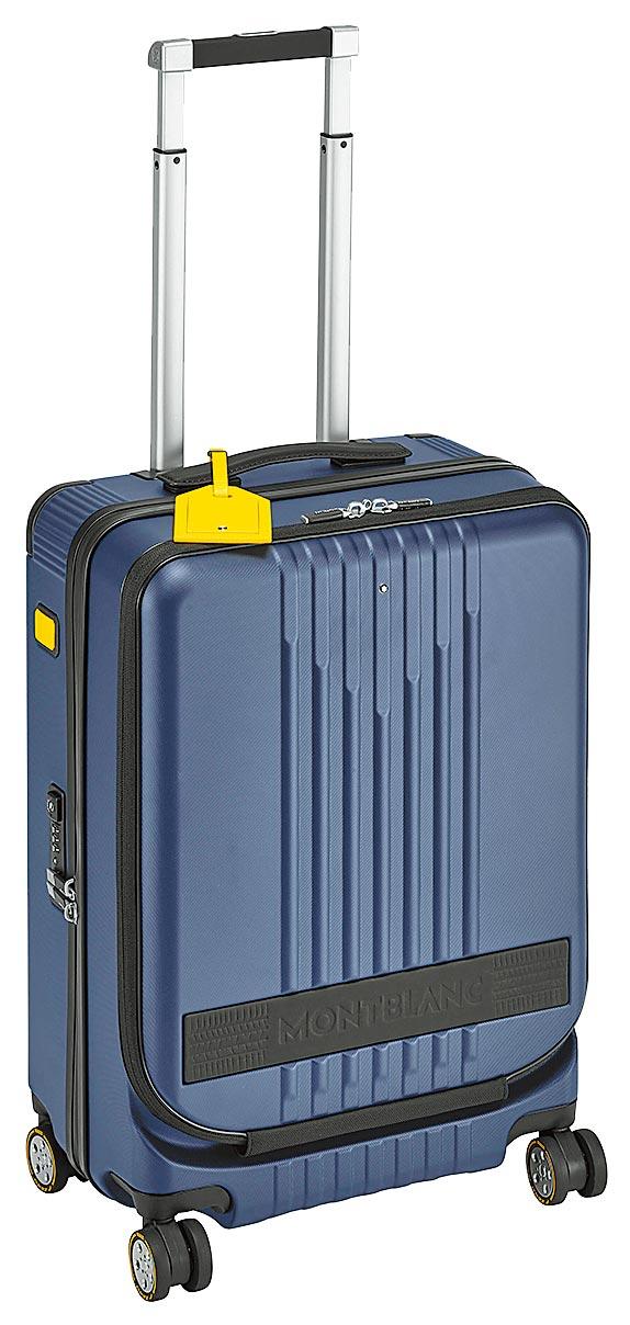 萬寶龍x倍耐力聯名款限量行李箱,2萬5200元。(Montblanc提供)