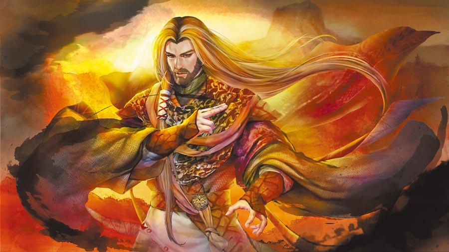 西劍流四天王」之一的宮本總司也成功登入手遊《群俠來了》。(金光多媒體提供)