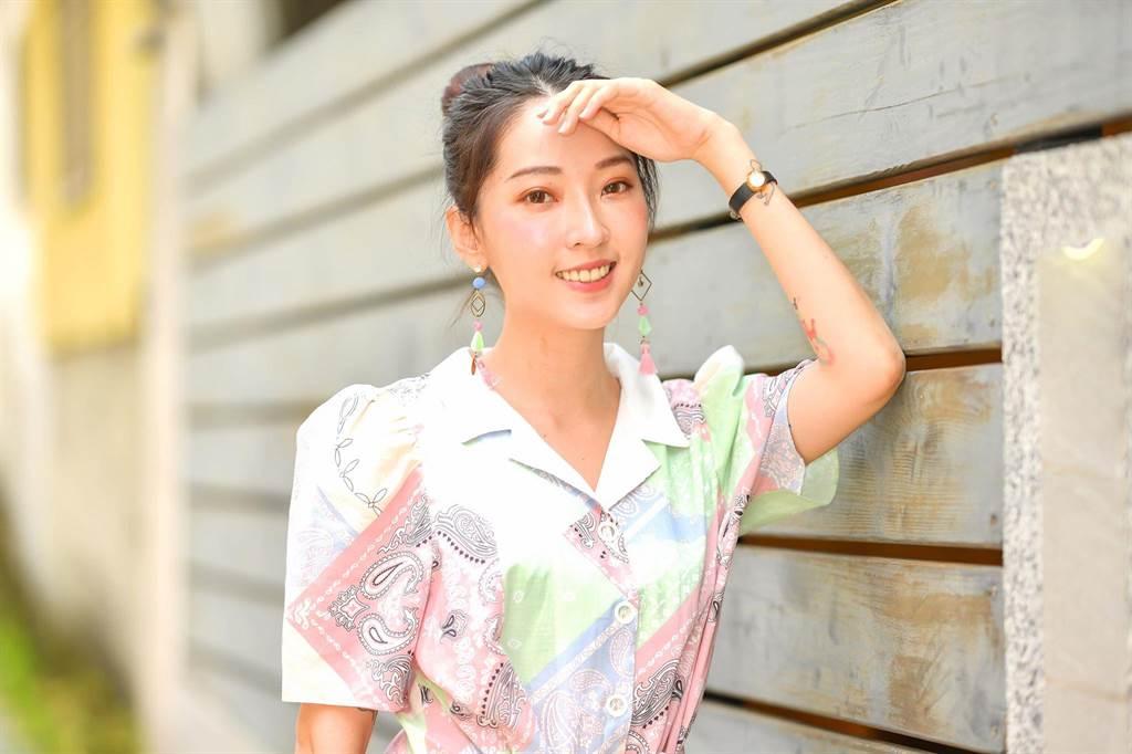 翁馨儀在花樣年華的20歲進入家庭生活。(盧禕祺攝)