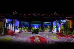 光雕照映百年老廟 保安宮展現新風貌
