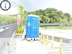七汐自行車道不「方便」基隆不管!新北議員爭廁所應急