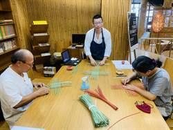 竹藝博物館駐館藝術家李弘偉 探索竹纖維創作