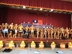 縣長盃全國健身健美錦標賽 國高中好手體態佳