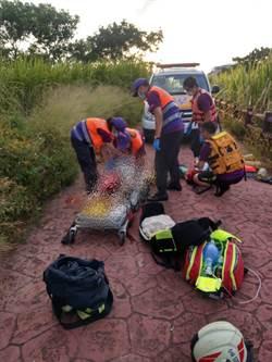 男童跳池塘抓魚溺水 母搶救反遭滅頂送醫不治