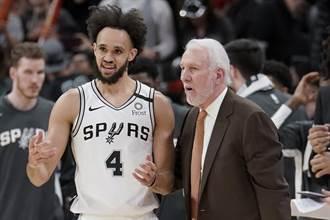 NBA》無視紀錄中斷 帕總喊馬刺只要進步