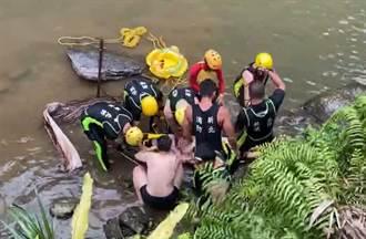 跳水意外!30歲男新店磺窟溪跳水命危  經急救後恢復心跳