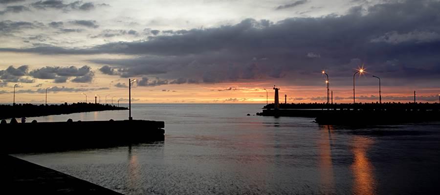 蚵仔寮漁港曾被票選為十大魅力漁港魅力組第一名。(攝影/曾信耀)