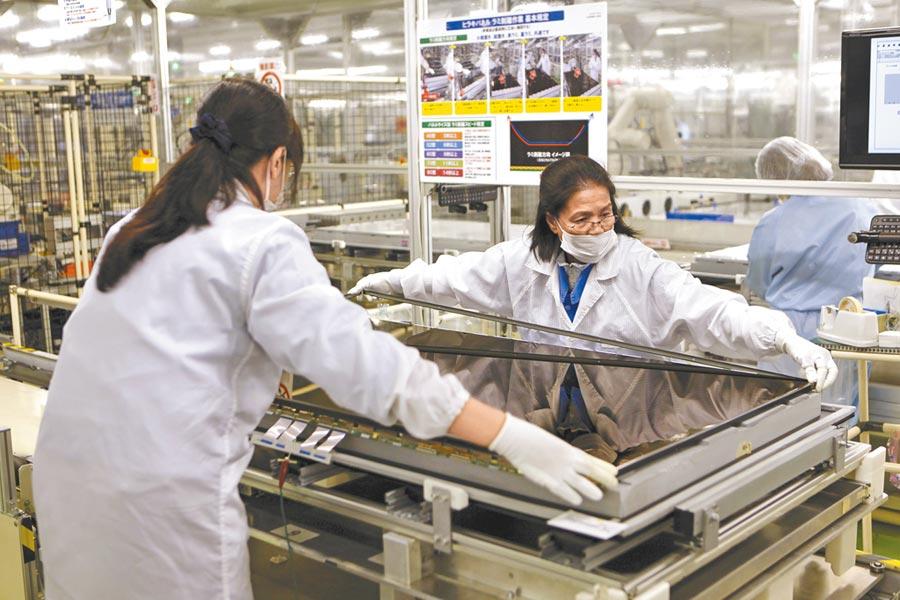 日本製造的競爭力削弱圖╱路透