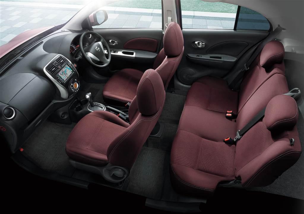 增加 Nissan Safety Shield 主動安全系統續命,Nissan March 日規新式樣發表