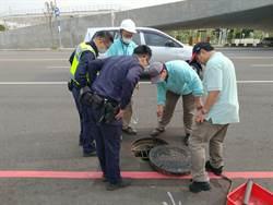 非法傾倒廢棄物至汙水人孔 水利局:衝擊環境衛生
