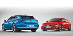 VW The Arteon雙車型前衛問世