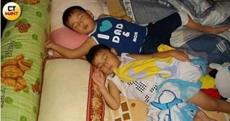 傾家顧殘童2/睡覺被兒踹一腳竟發現肺腺癌 癌父:孩子是我的救命天使